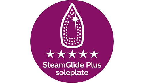 SteamGlide Plus: de perfecte balans tussen glijden en strak trekken