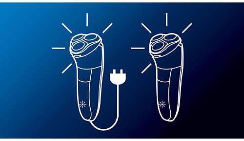 Betrieb mit und ohne Kabel möglich