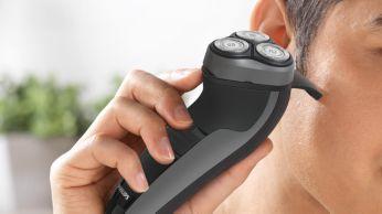 Perfecto para recortar las patillas y el bigote