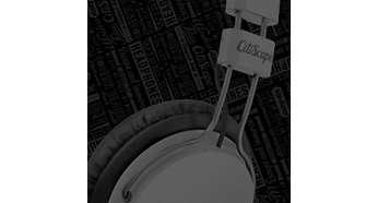 Fleksibel metallarm utformet for komfortabel, langvarig lytting