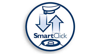 SmartClick system for easy click-on/off attachments