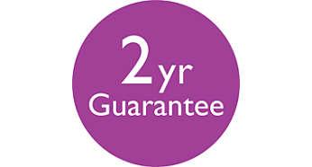 2 anni di garanzia internazionale