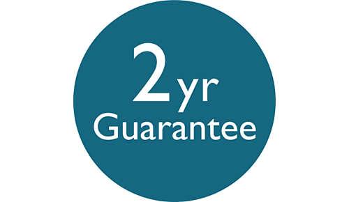 2años de garantía mundial