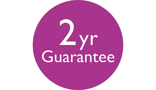 2 års verdensomspændende garanti