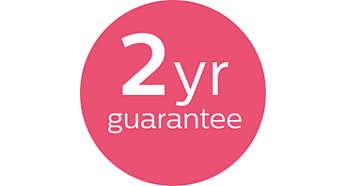 2 years of worldwide guarantee