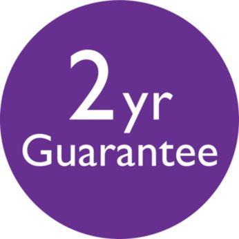 2-year worldwide guarantee