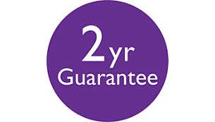 Garantia mundial de 2 anos