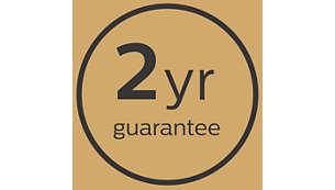 2 lata ogólnoświatowej gwarancji