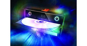 Aparelho de DVD com HDMI para alta de qualidade de som e imagem