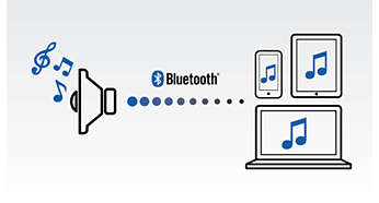 Bluetooth-streaming til uovertruffen klar lyd