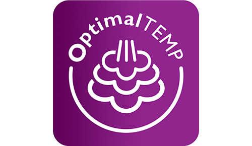 Tecnología OptimalTemp: combinación perfecta de temperatura