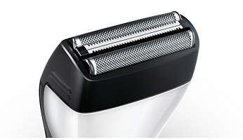 New foil shaver: Shaves 20% faster than before
