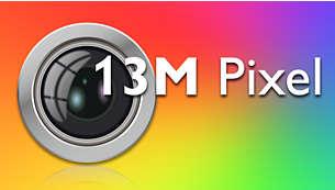 Fotografías sorprendentes gracias a una cámara con foco automático de 13 megapíxeles y flash