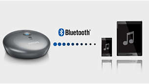 Works with any smartphone or tablet with Bluetooth®
