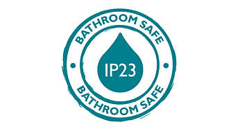 IP23, perfekt for badet