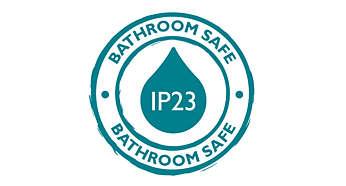 IP23, perfect geschikt voor uw badkamer