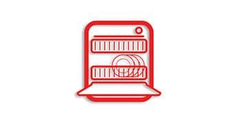 所有搅拌机部件都可用洗碗机清洗