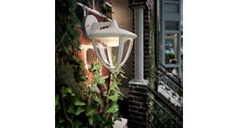 Teplé biele svetlo