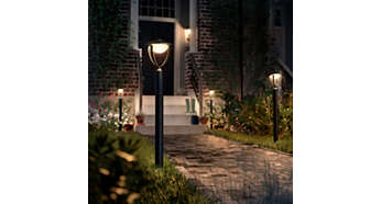 Warmweißes Licht