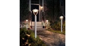 Luz branca suave