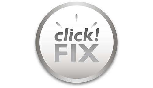 Helppo click!FIX-kiinnitysjärjestelmä