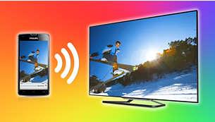 Chia sẻ nội dung điện thoại không dây trên Philips Smart TV của bạn