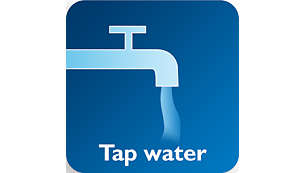Effektiv mit kaltem/warmem Leitungswasser, mit/ohne Reinigungsmittel
