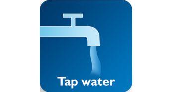 Эффективно при использовании холодной/теплой водопроводной воды как с добавлением моющего средств, так и без него