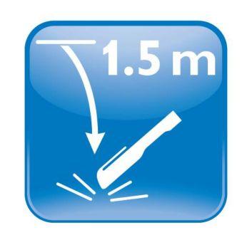 Test de chute: 12chutes libres de 1,5m