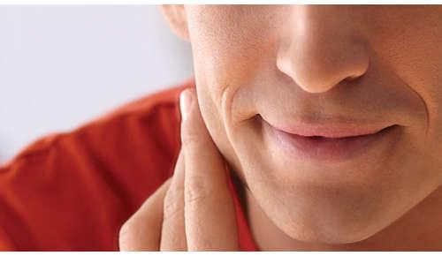Verzacht de huid en het haar voor een comfortabele scheerbeurt