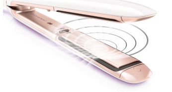 Perfect moisture protection with innovative sensor - Philips MoistureProtect Hair Straightener