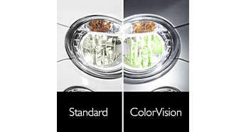 Designed for reflector optics for colour customisation
