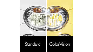 Designed for reflector optics for color customization