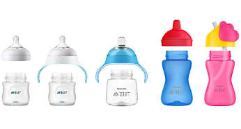 Compatible with Philips Avent Natural and Classic+ bottles
