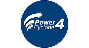 PowerCyclone颶風離塵技術提供最高效能