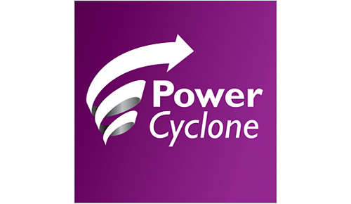 PowerCyclone-teknologi for optimal ydeevne