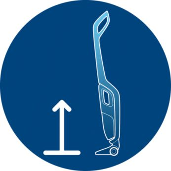 Self-standing position for instant parking anywhere