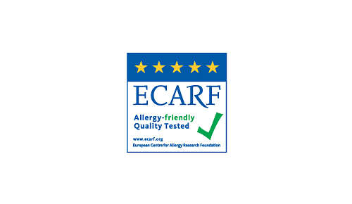 Allergikerfreundliche Qualität, von ECARF bestätigt
