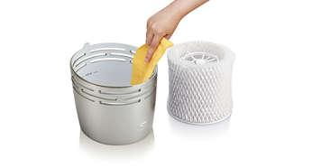 現代設計讓您享受最頂級的便利清潔模式