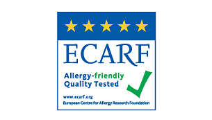 Antiallergico, testata da ECARF