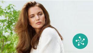 Гладкие и блестящие волосы благодаря системе ионизации