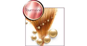 Keramička obloga s turmalinom povećava sjaj kose
