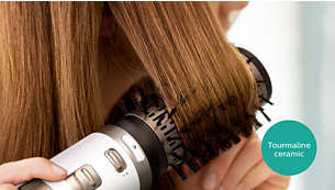 A turmalin kerámia bevonat még fényesebbé teszi haját