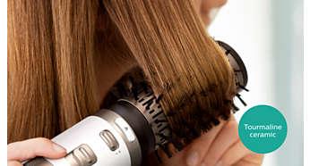 Турмалиновата керамика придава на косата ви повече блясък