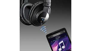 Controllo di musica e chiamate wireless tramite la tecnologia Bluetooth