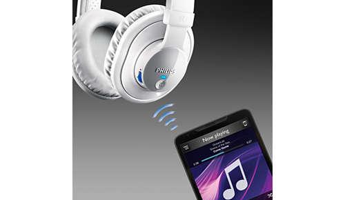 Draadloze muziek- en gespreksbediening via Bluetooth