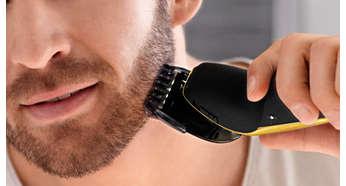 Насадка-стайлер для бороды с 5установками длины