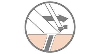 Бритвы SensoTouch оснащены системой Super Lift&Cut