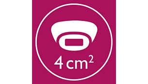 Acessório corporal: tratamento mais rápido (15min. para 2 meias pernas)