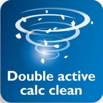Double Active Calc sistēma, lai novērstu katlakmeni